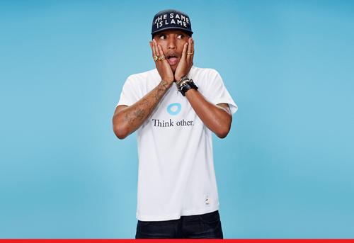 Pharrell Williams + UNIQLO UT S/S 2014
