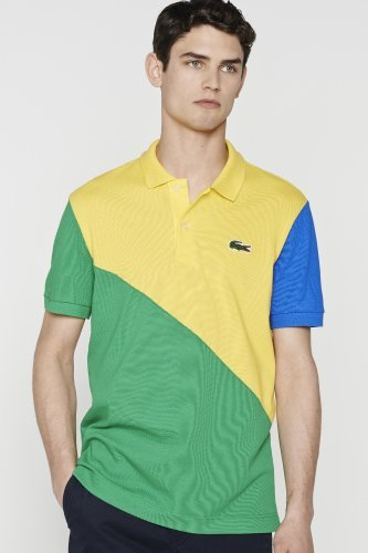 Rio Color Blocked Pique Polo $120