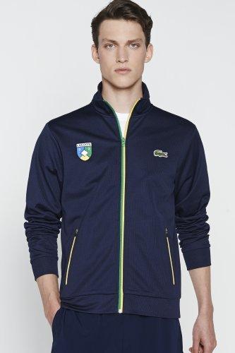 Rio Full Zip Lacoste Crest Sweatshirt
