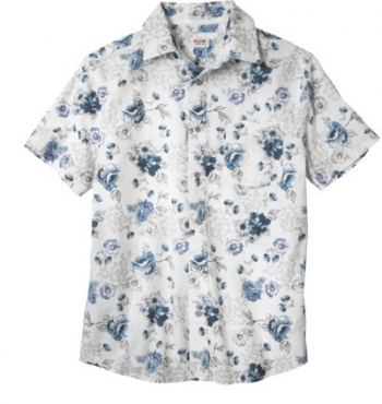 Target - Mossimo Supply Co. Short Sleeve Button Down $19.99
