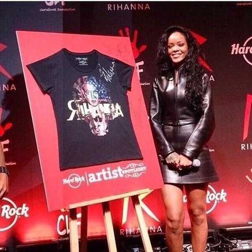 Rihanna Artist Spotlight T-Shirt $26.00