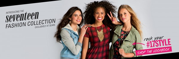 Seventeen Magazine - Fashion Collection At Sears