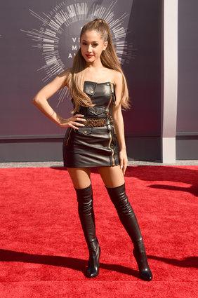 Ariana Grande in Moschino