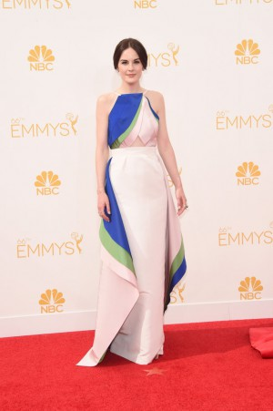 Michelle Dockery in Rosie Assoulin
