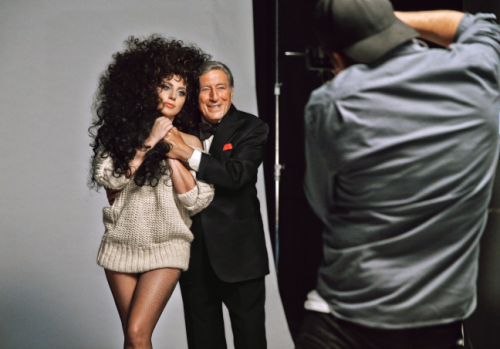 Bennett and Gaga H&M Holiday Campaign