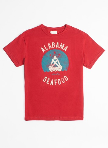 Bill Reid Alabama Seafood - Harvest T - Shirt $56