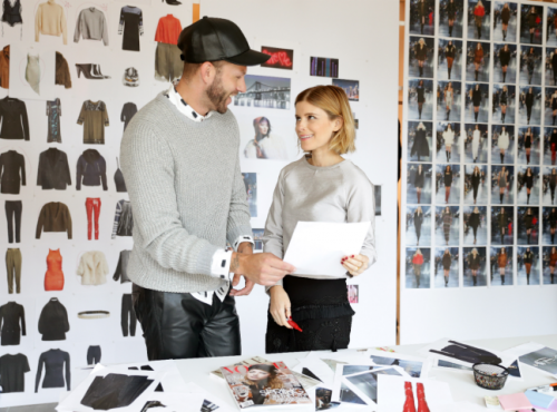 Kate Mara & Johnny Wujek for H&M Studio