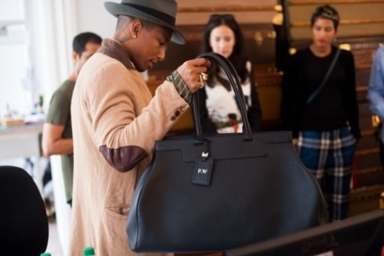 Pharrell Williams x Moynat (image WWD)