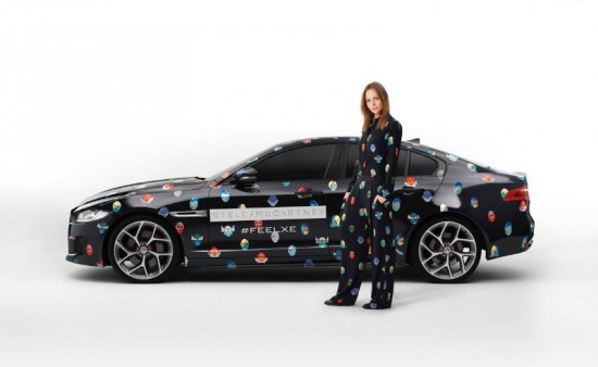 StellaMcCartney Superhero Print for Jaguar