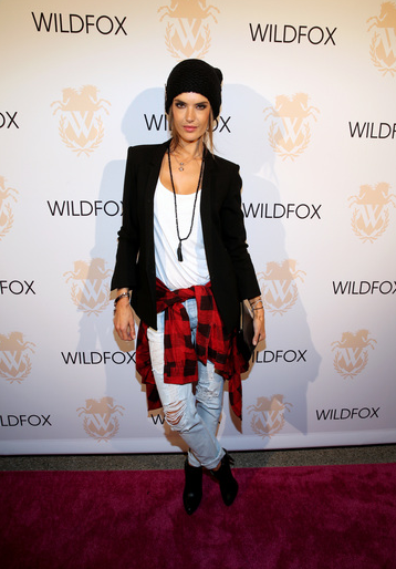 Alessandra Ambrosio at Wildfox Boutique