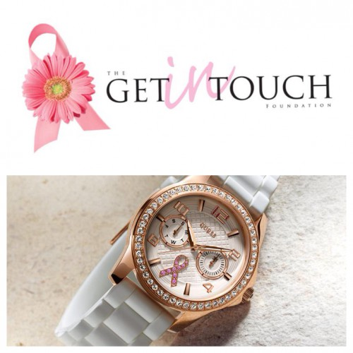 GUESS Watches + The Get In Touch Foundation