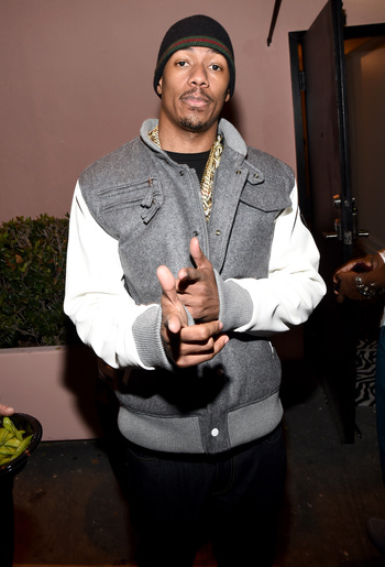 Nick Cannon at Wildfox Boutique
