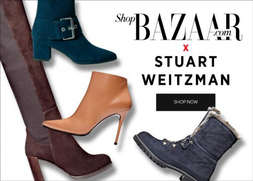 Stuart Weitzman and Harper's Bazaar Collection