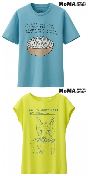 David Shrigley - Men's and Women's MoMA Special Edition Tee $19.90