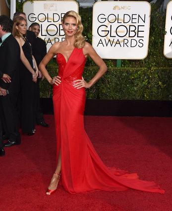Heidi Klum in Versace