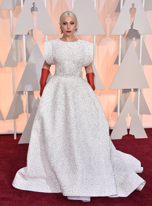 Lady Gaga in Azzedine Alaia