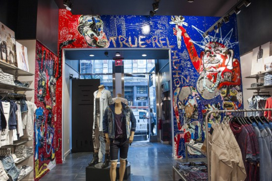 True Religion Soho Flagship Store