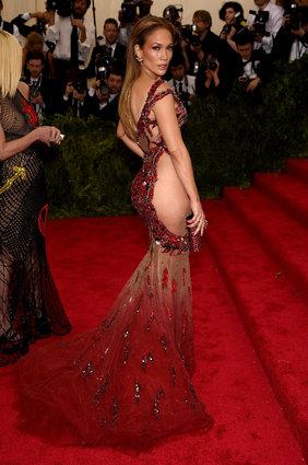 Jennifer Lopez in Versace Atelier