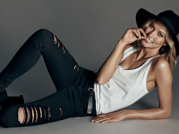 Karlie Kloss for EXPRESS Denim