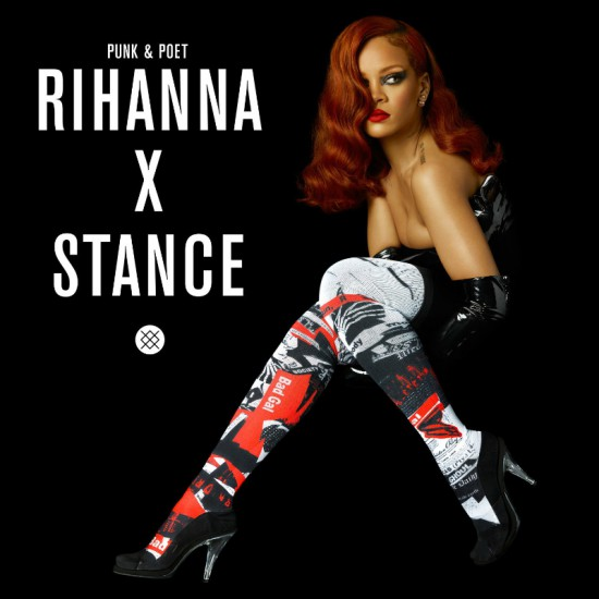 Rihanna Announced as a Contributing Creative Director and Punk & Poet for Stance (PRNewsFoto/Stance)
