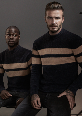 David Beckham & Kevin Hart for H&M