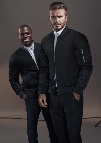 David Beckham & Kevin Hart for H&M