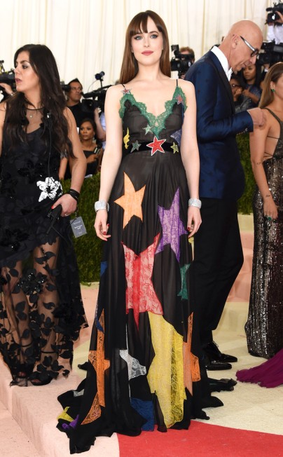 Dakota Johnson in Gucci