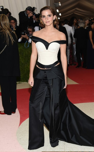 Emma Watson in Calvin Klein Collection