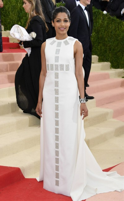Fredia Pinto in Tory Burch