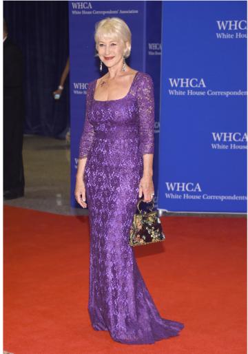 Helen Mirren in Dolce & Gabbana