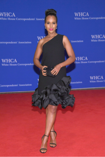 Kerry Washington in Victoria Beckman