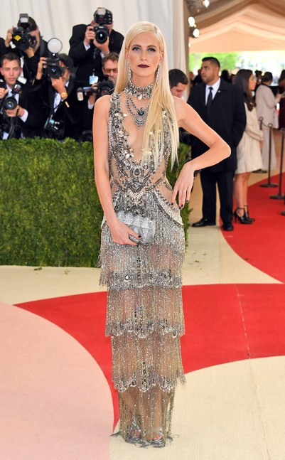 Poppy Delevinge in Marchesa
