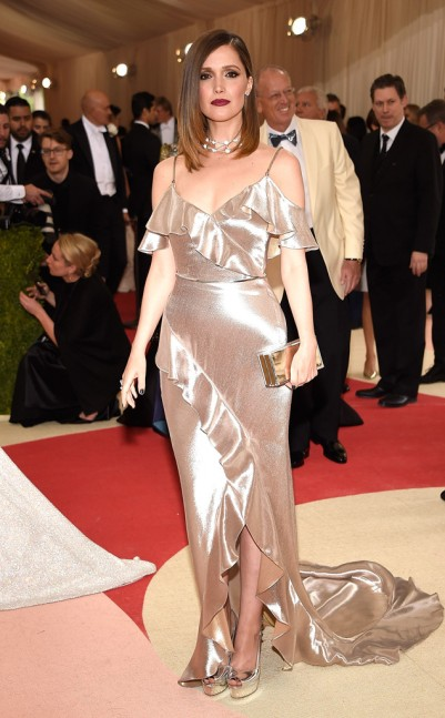 Rose Byrne in Ralph Lauren Collection