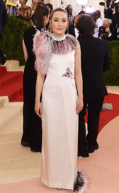 Saoirse Ronan in Christopher Kane
