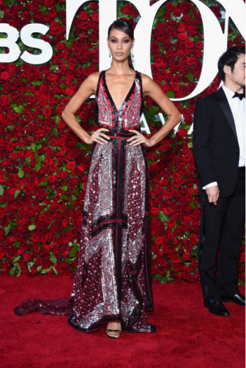 Joan Smalls in Altuzarra