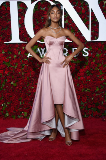 Jourdan Dunn in Zac Posen
