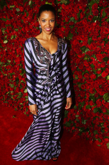 Renée Elise Goldsberry in Marc Jacobs