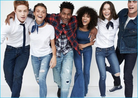 Abercrombie & Fitch - New Denim Collection