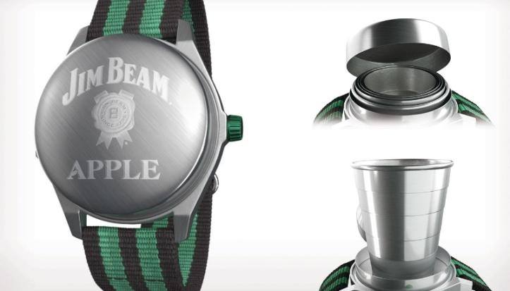 Jim Beam Apple Watch Interface