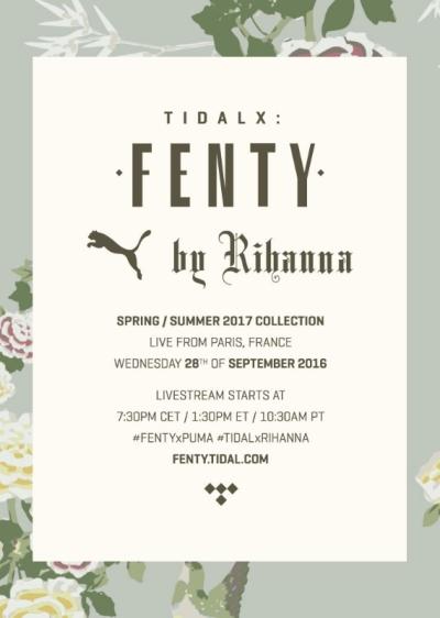 TIDAL - FENTY PUMA - Rihanna