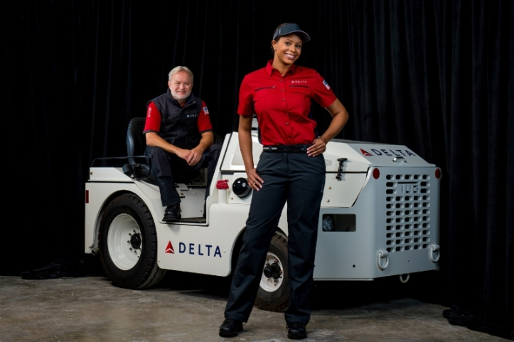 Delta Air Lines Below Wing Uniforms