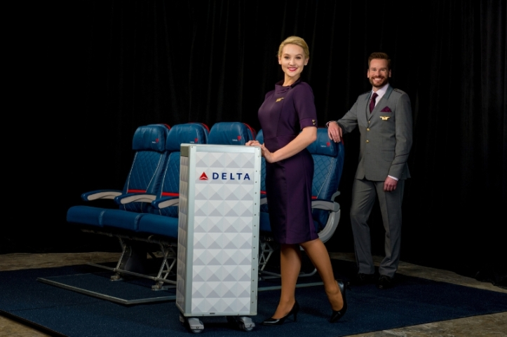 Delta Air Lines In-Flight Uniforms