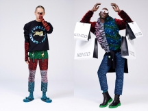 KENZO x H&M - (L) Photograper, Youngjun Koo (R) Rapper, Le1f