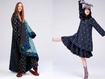 KENZO x H&M - (L) Model, Julia Banas (R) Model Mae Lapres