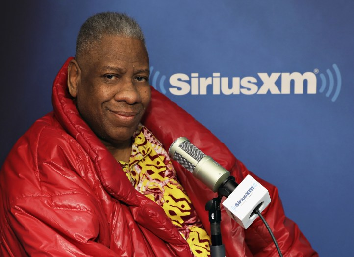 Andre Leon Talley Launches New SiriusXM Show On Andy Cohen's Exclusive SiriusXM Channel Radio Andy