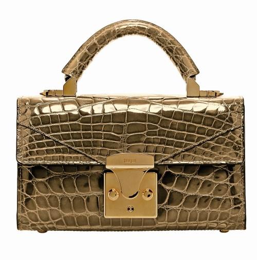 STALVEY 24kt gold bag