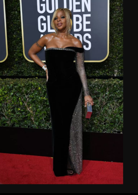 Mary J. Blige in Alberta Ferretti