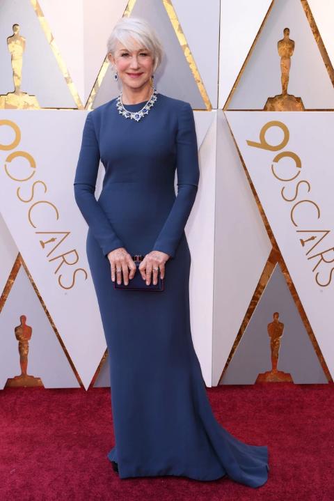 Helen Mirren in Reem Acra