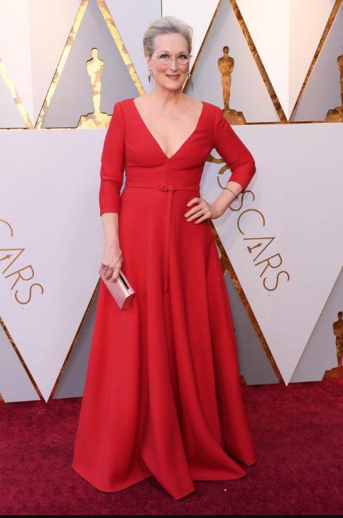 Meryl Streep in Dior