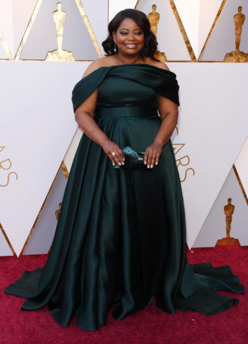 Octavia Spencer in Brandon Maxwell